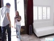 Amateur chick Lilly gets fucked by dude