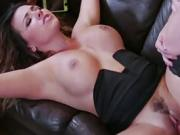 Hot and horny Danica seduces guy for a hardcore sex