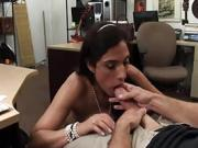 A sexually frustrated slut Veronica fucks for cash