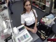 Little Latina stewardess gets fucked
