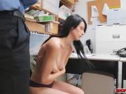 Alex Harper got undressed and got banged by the officer